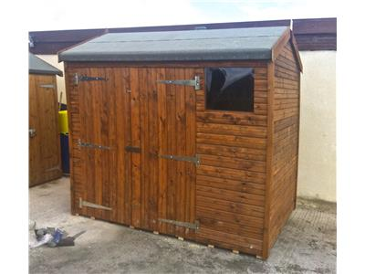 8x6 HiPex-A Beast wood Garden shed