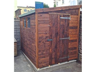 8x6 Pent-F Beast wood Garden shed