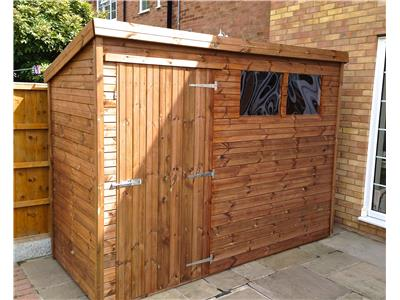 9x4 Pent-A Tanalised wood Garden shed