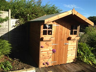 8x6 S1 Standard wood Garden shed