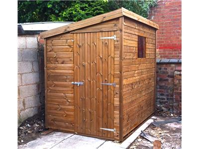 7x5 Pent-E Tanalised wood Garden shed