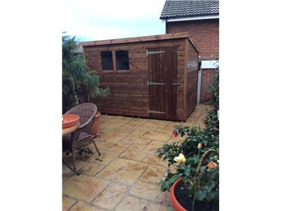 10x6 Pent-B Beast wood Garden shed