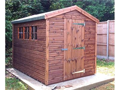10x6 Apex Beast wood Garden shed