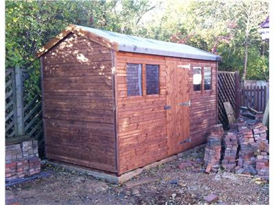 12x6 HiPex-C Beast wood Garden shed