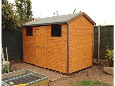 10x6 HiPex-C Standard wood Garden shed