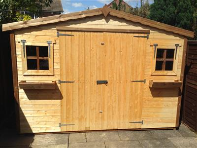 8x6 S1 Standard wood Garden shed