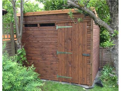 8x6 Pent-B Beast wood Garden shed