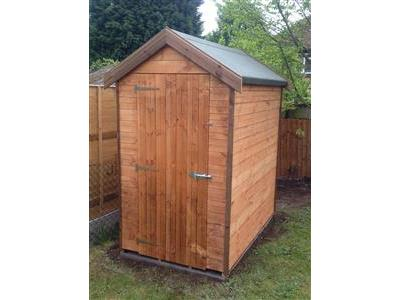 7x5 Apex Standard wood Garden shed