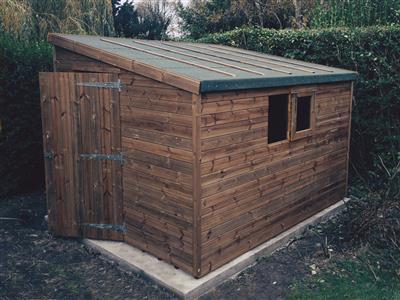 10x8 Pent-G Beast wood Garden shed
