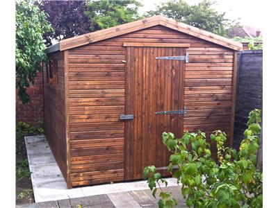 11x8 Apex Beast wood Garden shed