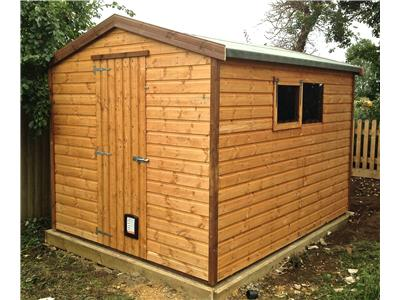 10x8 Apex Standard wood Garden shed