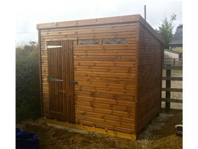 8x6 Pent-A Beast wood Garden shed