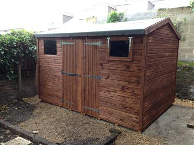 10x6 HiPex-C Tanalised wood Garden shed