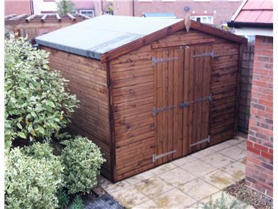 9x8 Apex Beast wood Garden shed