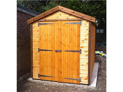 9x6 Apex Standard wood Garden shed