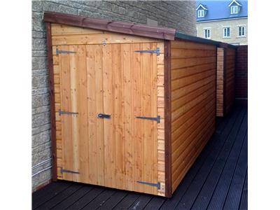 7x5 Pent-G Standard wood Garden shed