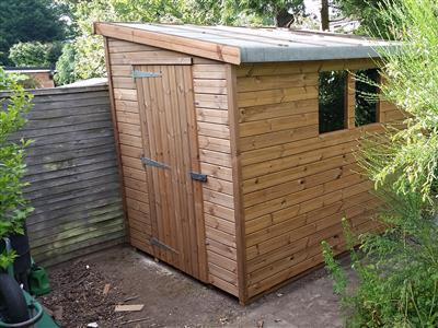 9x6 Pent-G Beast wood Garden shed