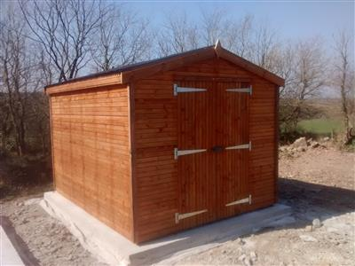 10x8 Apex Beast wood Garden shed