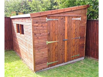 10x8 Pent-F Beast wood Garden shed