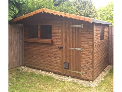 10x7 S3 Beast wood Garden shed