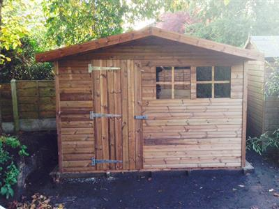 10x8 S2 Beast wood Garden shed