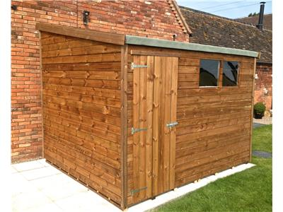 8x6 Apex Standard wood Garden shed