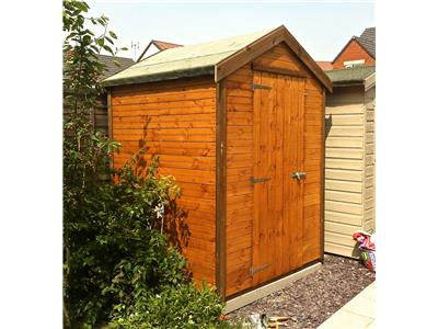 5x5 Apex Standard wood Garden shed