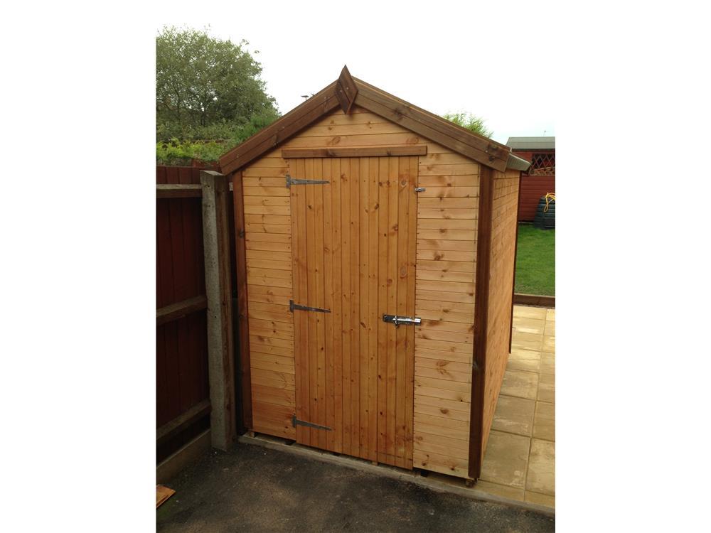 Shedpa wooden garden sheds 12x10 for Garden shed 7x5