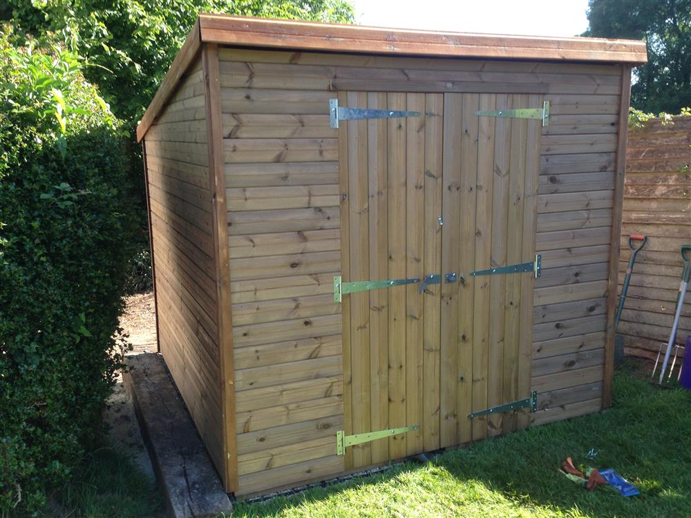 Summers 8x7 wooden sheds details for Garden shed 7x6