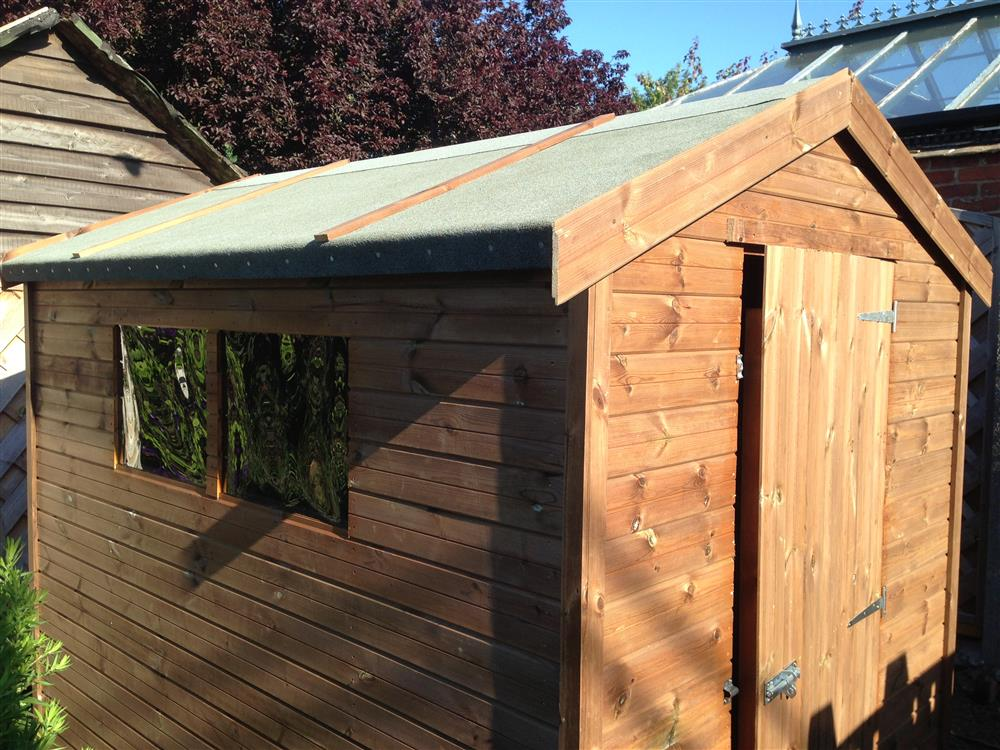Free design woodworking shed plans 7x5 for Garden shed 7x5