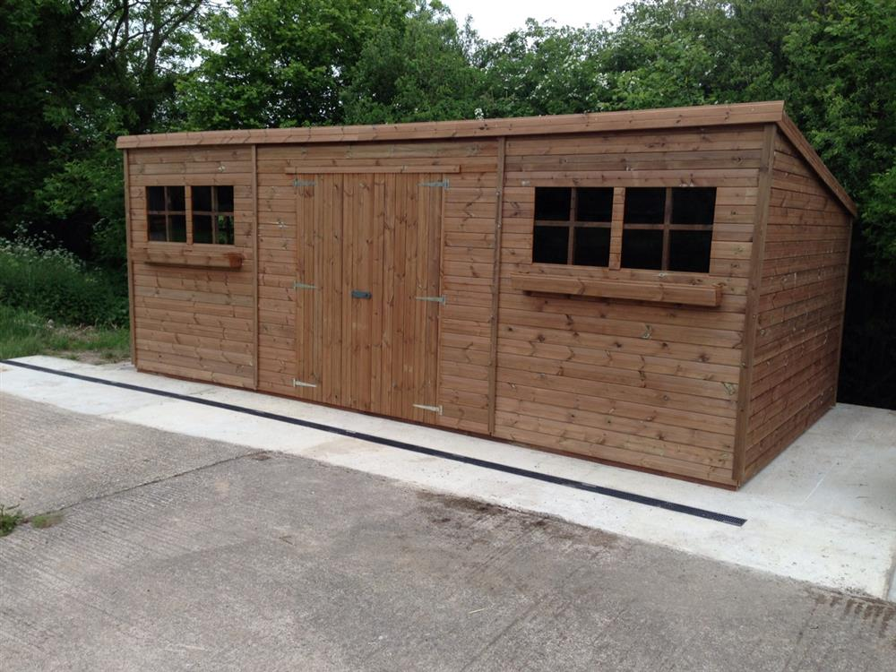 Sy sheds wooden sheds 5x5 for Garden shed 9x4
