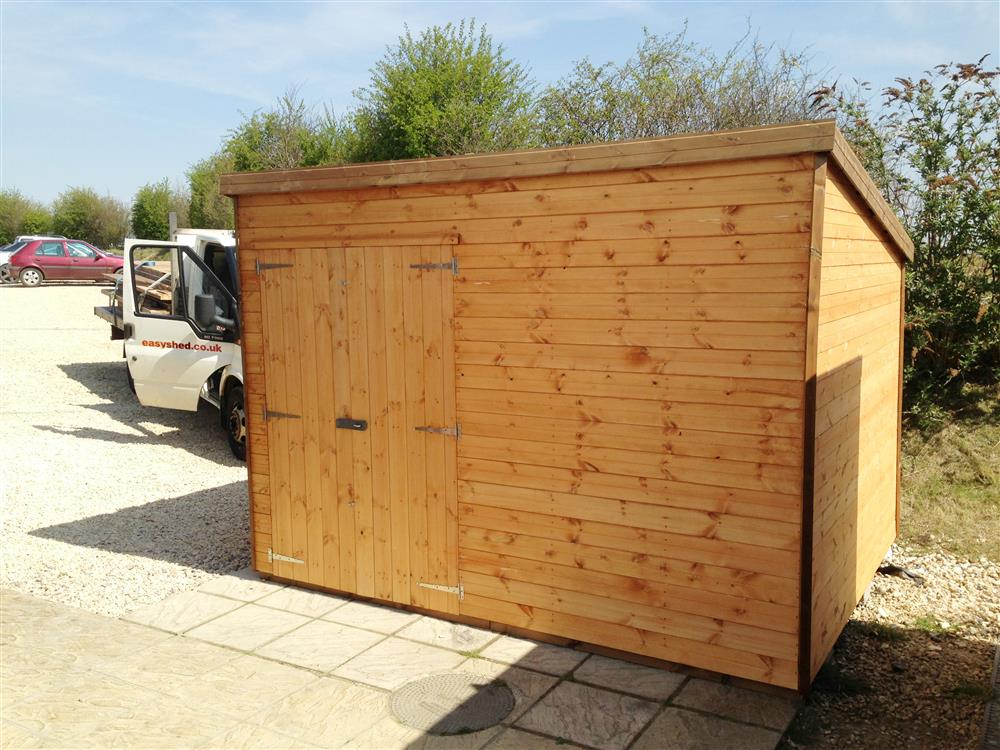 Bekkers 8x6 tanalised shed for Garden shed 7x4