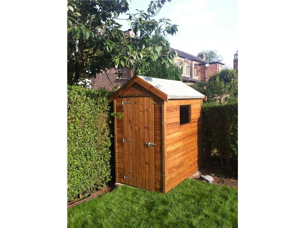 Ulisa garden shed 10x8 pent for Garden shed 6x4