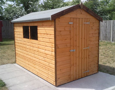 8 x 6 Apex Garden Shed