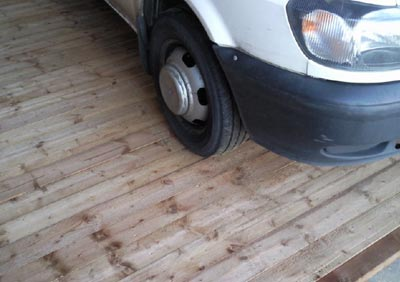 strong shed flooring