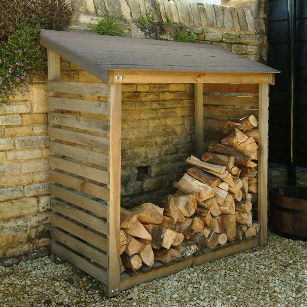 log storage wood storage ForLog Storage Ideas