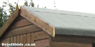 shed roofing. Black Bedroom Furniture Sets. Home Design Ideas