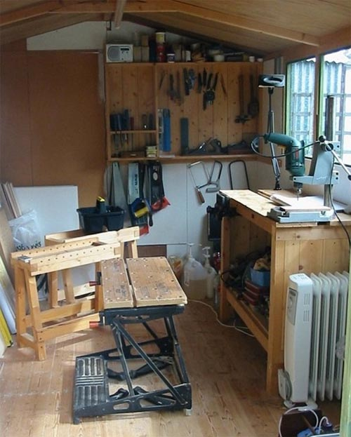 Wood Workbench Plans Wall PDF Plans
